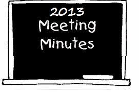 2013 meeting minutes