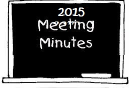 2015 Meeting Minutes